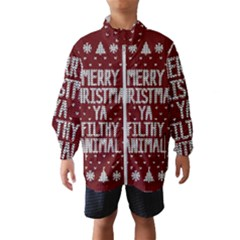 Ugly Christmas Sweater Wind Breaker (kids)
