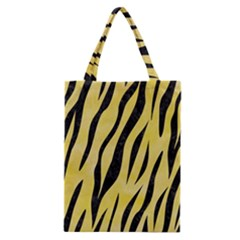 Skin3 Black Marble & Yellow Watercolor Classic Tote Bag by trendistuff