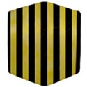 STRIPES1 BLACK MARBLE & YELLOW WATERCOLOR Apple iPad Mini Flip Case View4