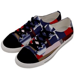 Surface Tree Polka Dots Men s Low Top Canvas Sneakers by Mariart