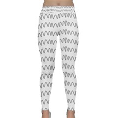 Tattoos Transparent Tumblr Overlays Wave Waves Black Chevron Classic Yoga Leggings by Mariart