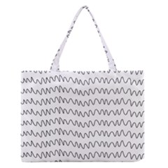 Tattoos Transparent Tumblr Overlays Wave Waves Black Chevron Zipper Medium Tote Bag by Mariart