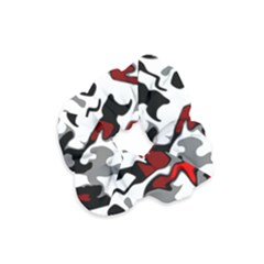 Vector Red Black White Camo Advance Velvet Scrunchie by Mariart