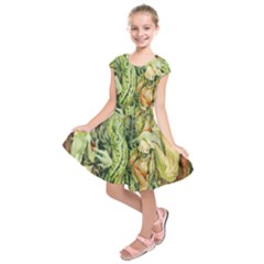 Chung Chao Yi Automatic Drawing Kids  Short Sleeve Dress