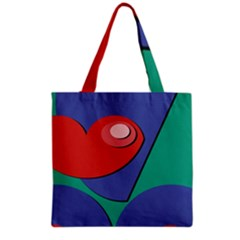 Clipart Portrait Illustration Grocery Tote Bag by Celenk