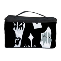 Kiss Band Logo Cosmetic Storage Case by Celenk