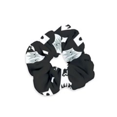 Kiss Band Logo Velvet Scrunchie