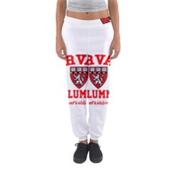 Harvard Alumni Just Kidding Women s Jogger Sweatpants by Celenk