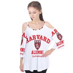Harvard Alumni Just Kidding Flutter Tees