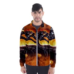 Dragon And Fire Wind Breaker (men)