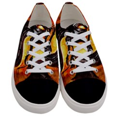 Dragon And Fire Women s Low Top Canvas Sneakers