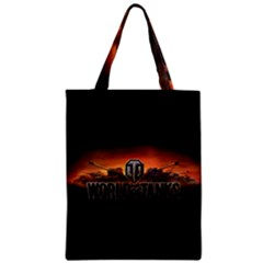 World Of Tanks Zipper Classic Tote Bag by Celenk