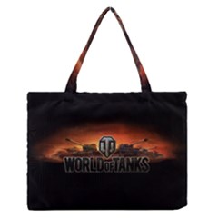 World Of Tanks Zipper Medium Tote Bag by Celenk