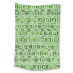 Classic Blocks,green Large Tapestry by MoreColorsinLife