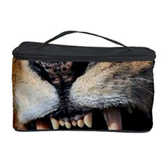 Male Lion Angry Cosmetic Storage Case by Celenk
