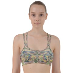 Art Floral Line Them Up Sports Bra by 8fugoso