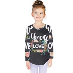 Love Kids  Long Sleeve Tee