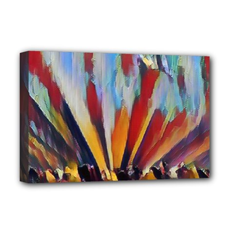 3abstractionism Deluxe Canvas 18  X 12   by 8fugoso