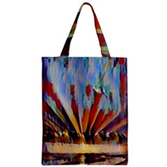 3abstractionism Zipper Classic Tote Bag by 8fugoso