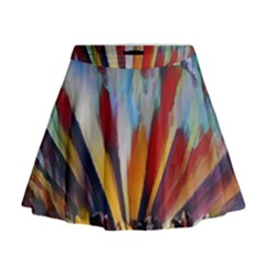 3abstractionism Mini Flare Skirt by 8fugoso