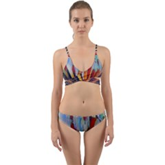 3abstractionism Wrap Around Bikini Set by 8fugoso