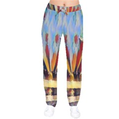 3abstractionism Drawstring Pants by 8fugoso