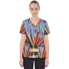 3abstractionism Scrub Top by 8fugoso