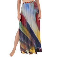 3abstractionism Maxi Chiffon Tie Up Sarong by 8fugoso