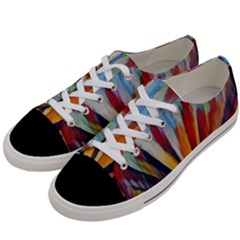 3abstractionism Women s Low Top Canvas Sneakers by 8fugoso