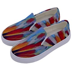 3abstractionism Kids  Canvas Slip Ons by 8fugoso