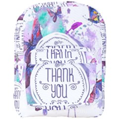 Thank You Full Print Backpack by Celenk