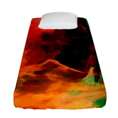 Abstract Acryl Art Fitted Sheet (single Size)