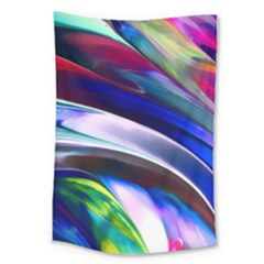 Abstract Acryl Art Large Tapestry by tarastyle
