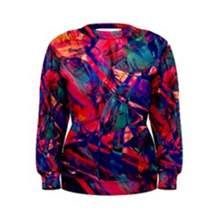 Abstract Acryl Art Women s Sweatshirt