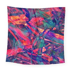 Abstract Acryl Art Square Tapestry (large)