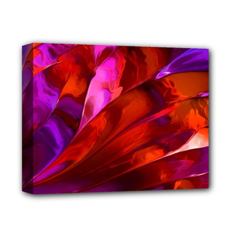 Abstract Acryl Art Deluxe Canvas 14  X 11  by tarastyle