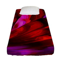 Abstract Acryl Art Fitted Sheet (single Size) by tarastyle