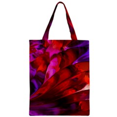 Abstract Acryl Art Zipper Classic Tote Bag