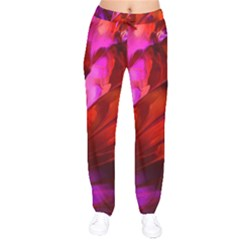 Abstract Acryl Art Drawstring Pants