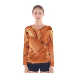 Abstract Acryl Art Women s Long Sleeve Tee