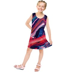 Abstract Acryl Art Kids  Tunic Dress by tarastyle