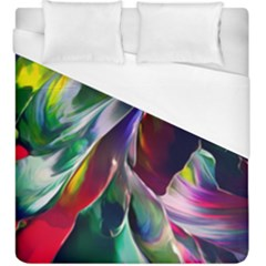 Abstract Acryl Art Duvet Cover (king Size) by tarastyle