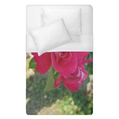 Romantic Red Rose Photography Duvet Cover (single Size)
