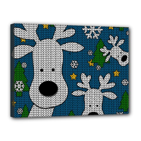 Cute Reindeer  Canvas 16  X 12