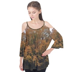 Autumn By Jay Peak Flutter Sleeve Tee