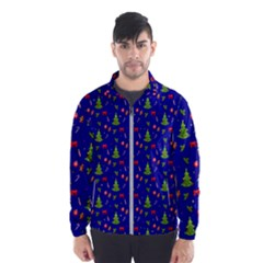 Christmas Pattern Wind Breaker (men)