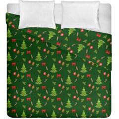 Christmas Pattern Duvet Cover Double Side (king Size)