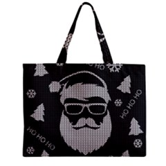 Ugly Christmas Sweater Zipper Mini Tote Bag