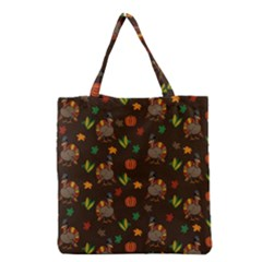 Thanksgiving Turkey  Grocery Tote Bag