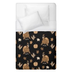 Thanksgiving Turkey  Duvet Cover (single Size)